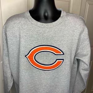 VTG CHICAGO BEARS NFL APPAREL Sweatshirt Lg Logo
